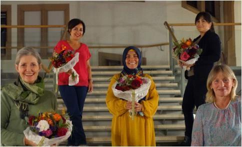 Die neuen Sprecherinnen des Frauenforum Ulm wurden gewählt.