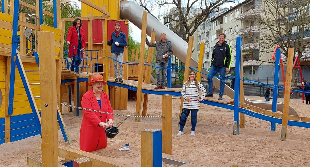 Spielplatz Lautenberg / Kleine Blauinsel