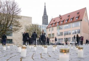 Corona-Gedenken in Ulm